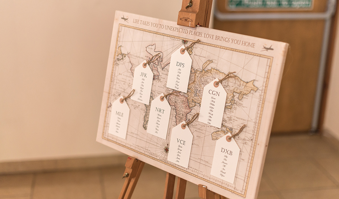 You Cant Go Wrong With A Table Plan Named After Places You And Your